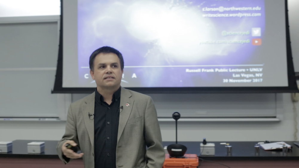 Russell Frank Astronomy Lecture Series web page