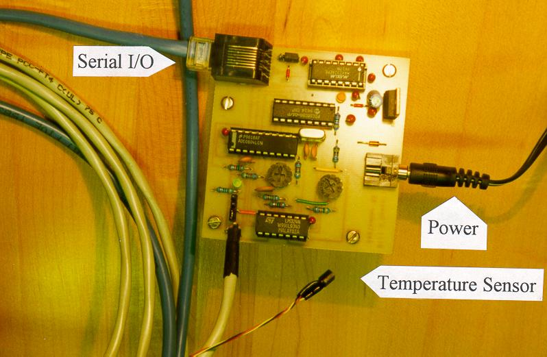 Temperature To Rs232 Converter